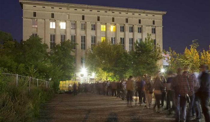 Berghain klubb leie i Zagreb